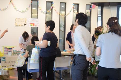 羽曳野店が「島田病院看護の日」に参加しました