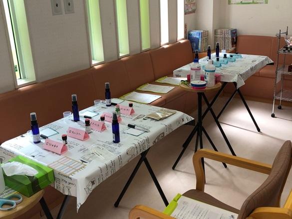 高知店でアロマ教室・健康相談を開催しました
