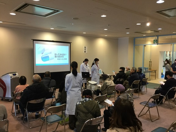 おうとくクリニック×奈良カイセイ薬局健康イベントを開催しました