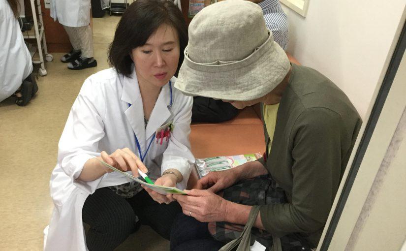 松井山手店にて健康測定会を実施しました