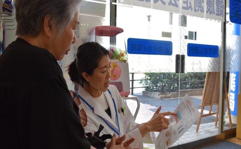 カイセイ薬局ハルカス南店にて健康測定会を実施しました!
