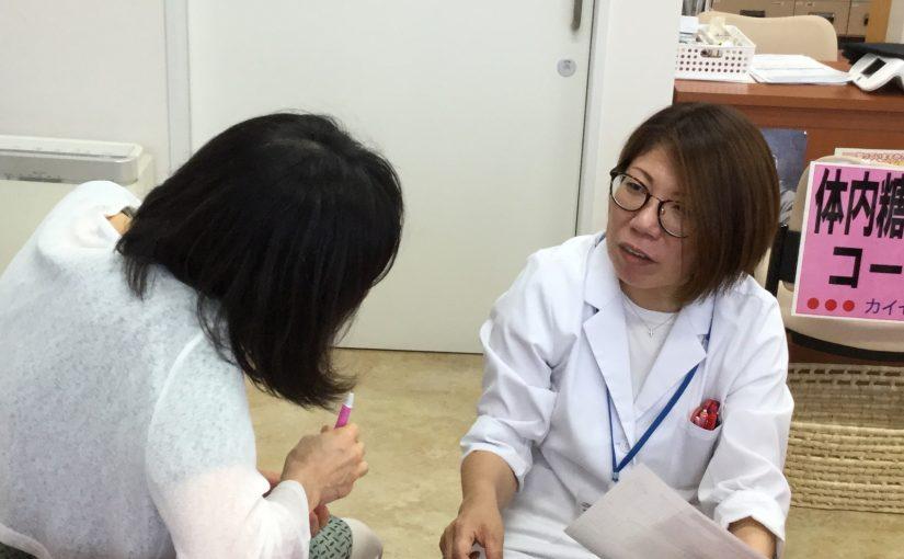 天理店にて健康測定会を実施しました