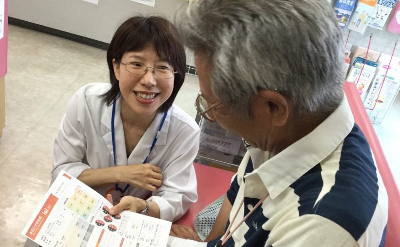 八尾カイセイ薬局にて健康測定会&栄養相談会を実施しました
